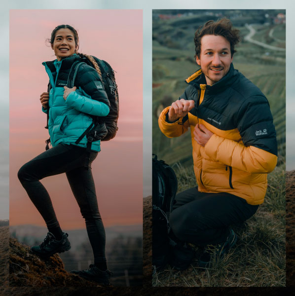 Yearning for some<br>adventure? - The Autumn/Winter collection is now in!